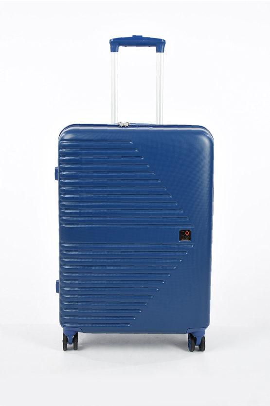 ELECTRA Trolley Medio 66cm 4R Espandibile Blu