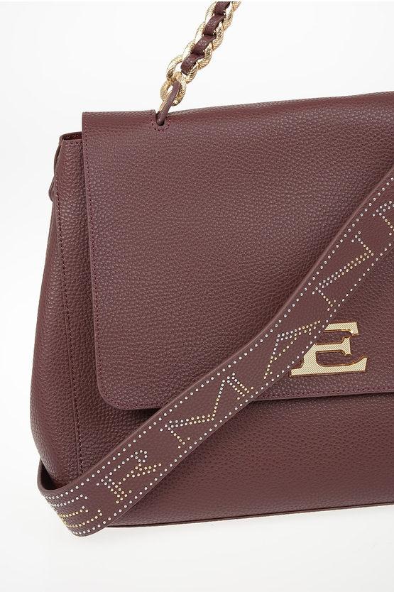 ERMANNO Faux Leather FLAP EBA Tote bag