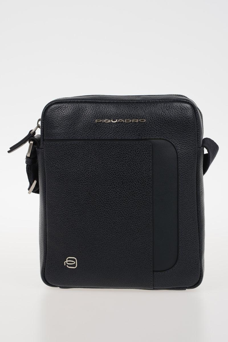 Piquadro ERSE Borsello porta iPad Mini Blu uomo - Cuoieria Shop On-line 8cd7341cbbf