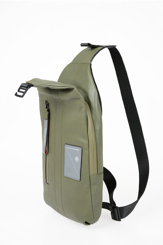EXPLORER Leather One Shoulder Bag Green