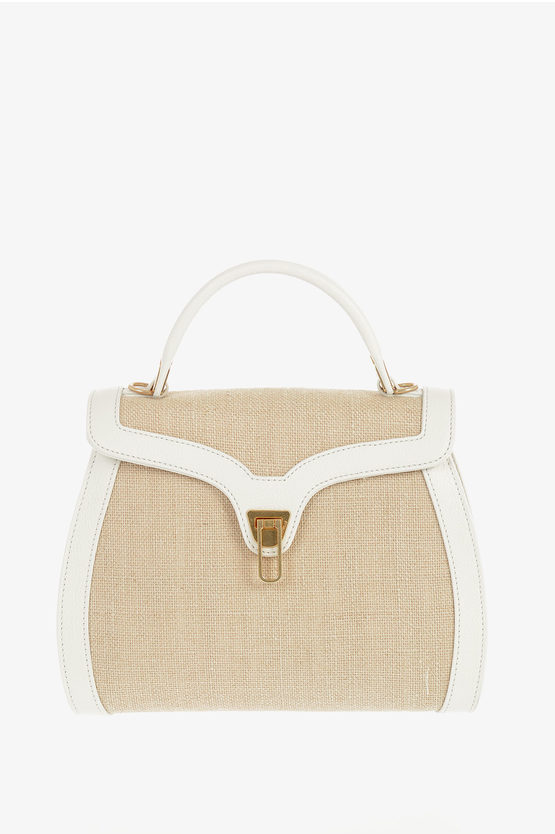 Fabric and Leather MARVIN Bag