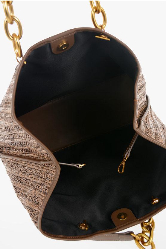 Faux Braided Leather SMALL SHOPPER GLORIA Small Bag
