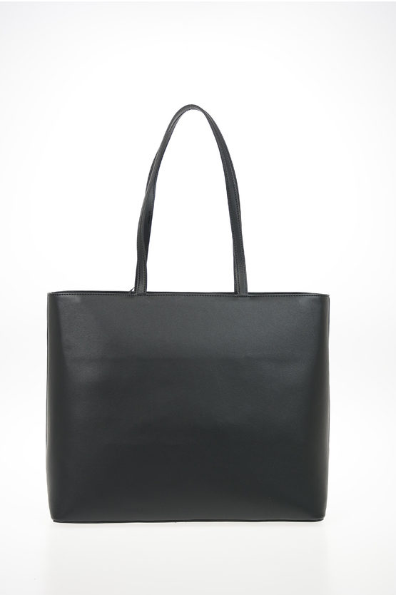 Faux Leather APPER Tote Bag