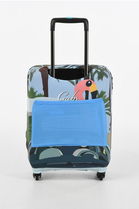 FIAT AND 500 Printed SOUTH BEACH Cabin Trolley Cover