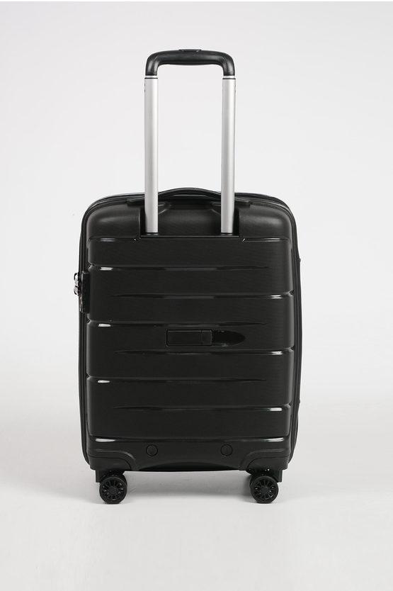 FLIGHT DLX Cabin Trolley 55cm 4W Expandable Black