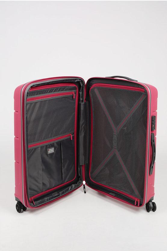 FLIGHT DLX Medium Trolley 71cm 4W Expandable Pink