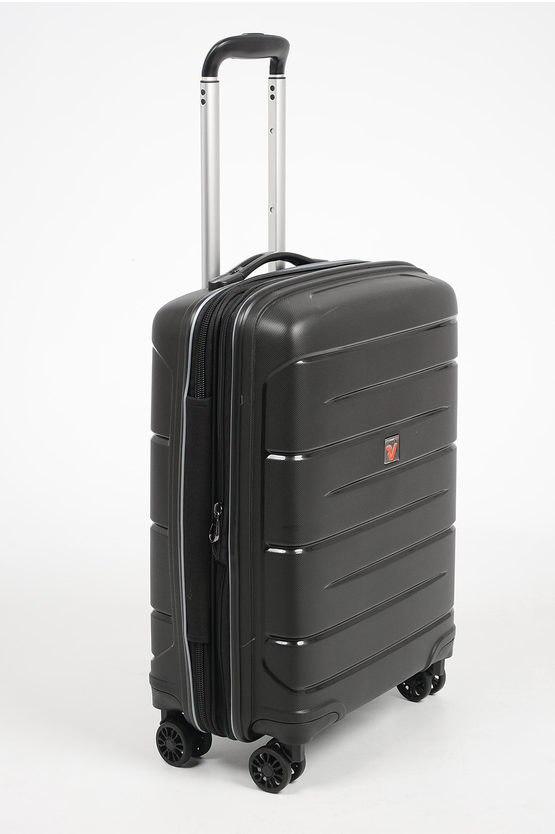 FLIGHT DLX Trolley Cabina 55cm 4R Espandibile Nero