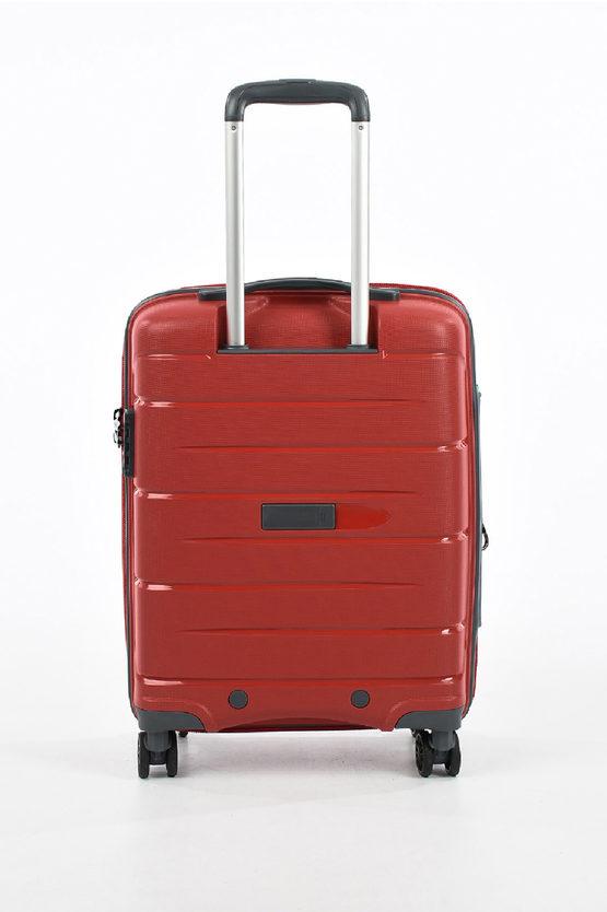FLIGHT DLX Trolley Cabina 55cm 4R Espandibile Rosso