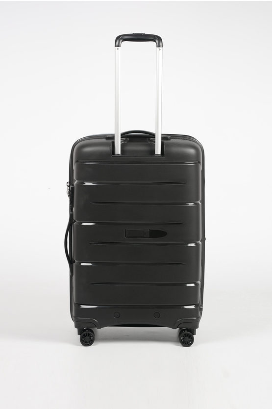 FLIGHT DLX Trolley Medio 71cm 4R Espandibile Nero