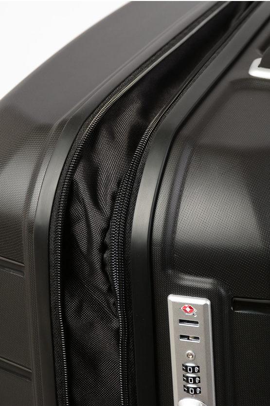 FLUX Large Trolley 75cm 4W Expandable Black
