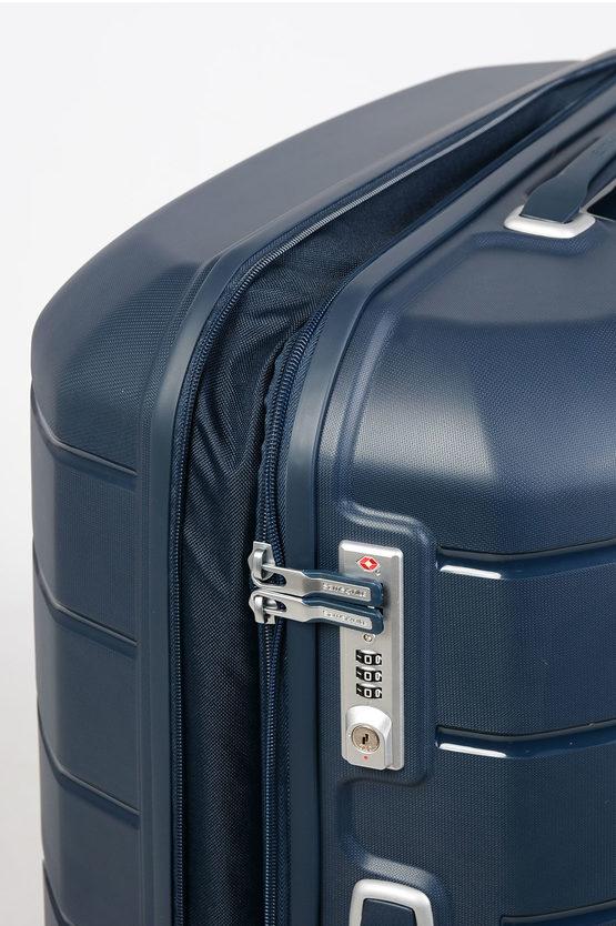 FLUX Large Trolley 75cm 4W Expandable Blue
