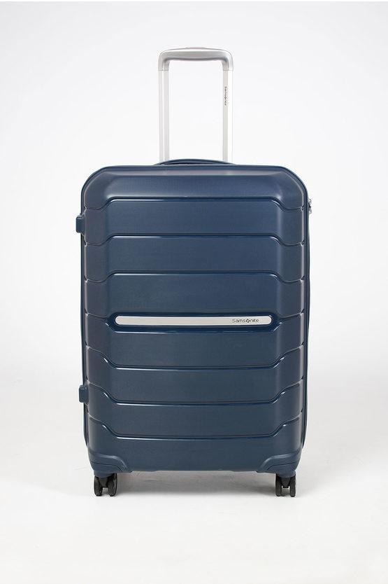 FLUX Medium Trolley 68cm 4W Expandable Blue
