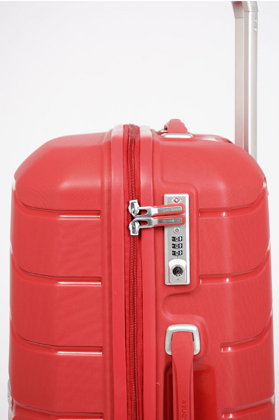 FLUX Medium Trolley 68cm 4W Expandable Red