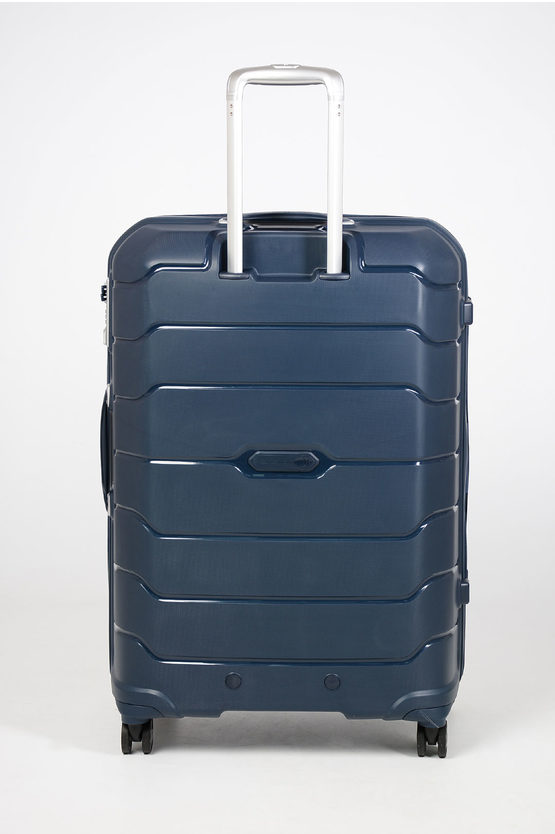 FLUX Trolley Grande 75cm 4R Espandibile Blu