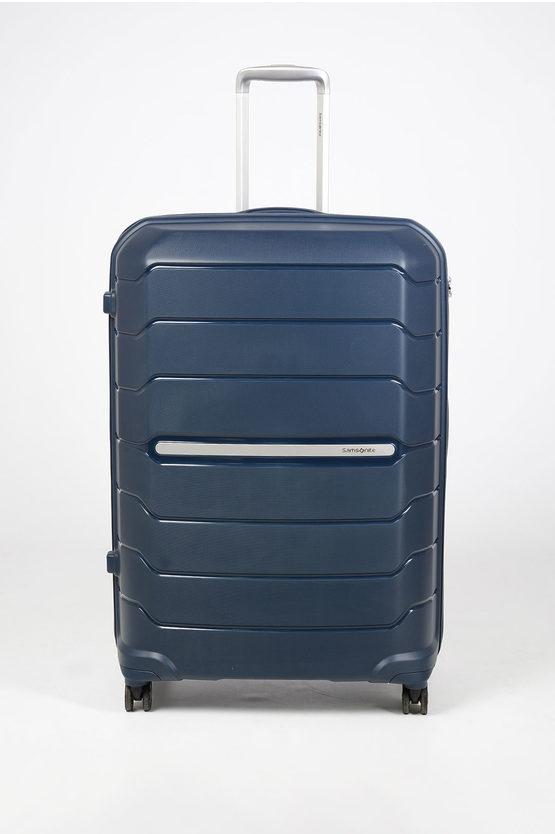 FLUX Trolley Grande 81cm 4R Espandibile Blu