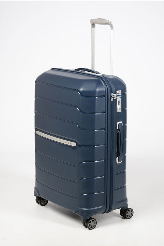 FLUX Trolley Medio 68cm 4R Espandibile Blue