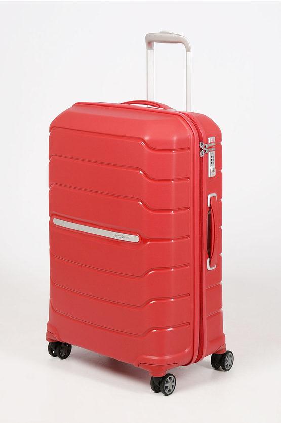 FLUX Trolley Medio 68cm 4R Espandibile Rosso