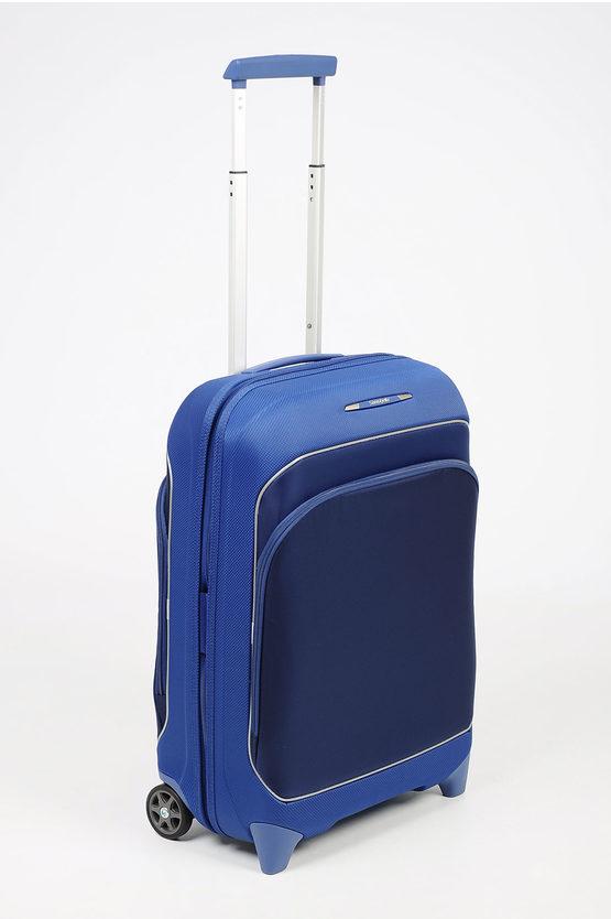FUZE Cabin Trolley 55cm 2W Expandable Blue