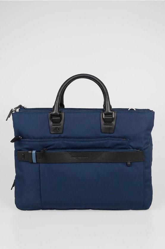 HEXAGON Briefcase Blue