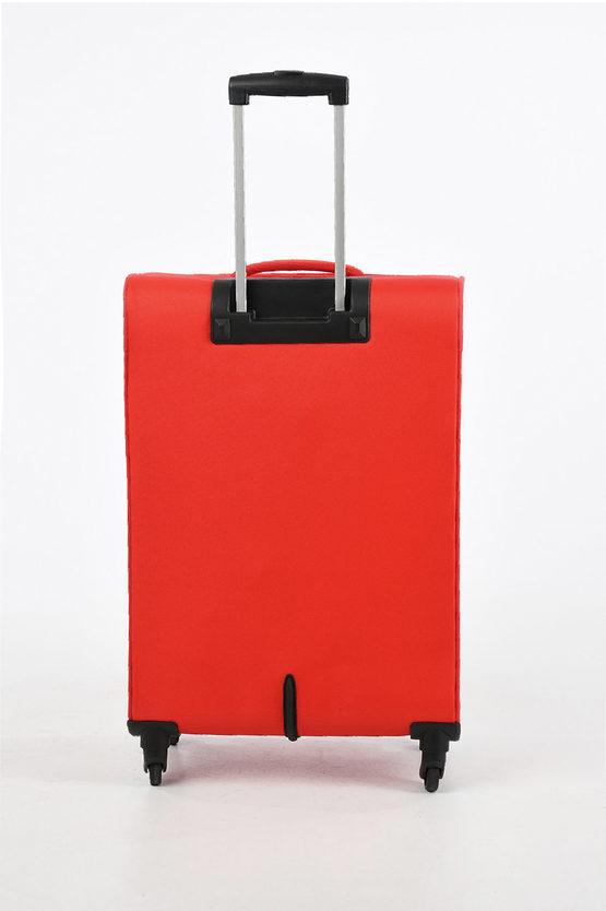 HYPERBREEZ Trolley Medio 69cm 4R Espandibile Rosso