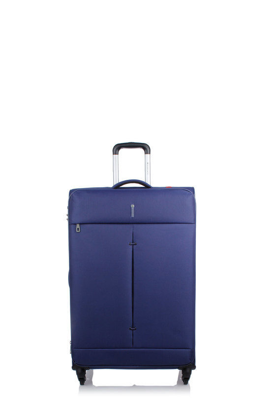 IRONIK Trolley Grande 78cm 4R Espandibile Blu Notte