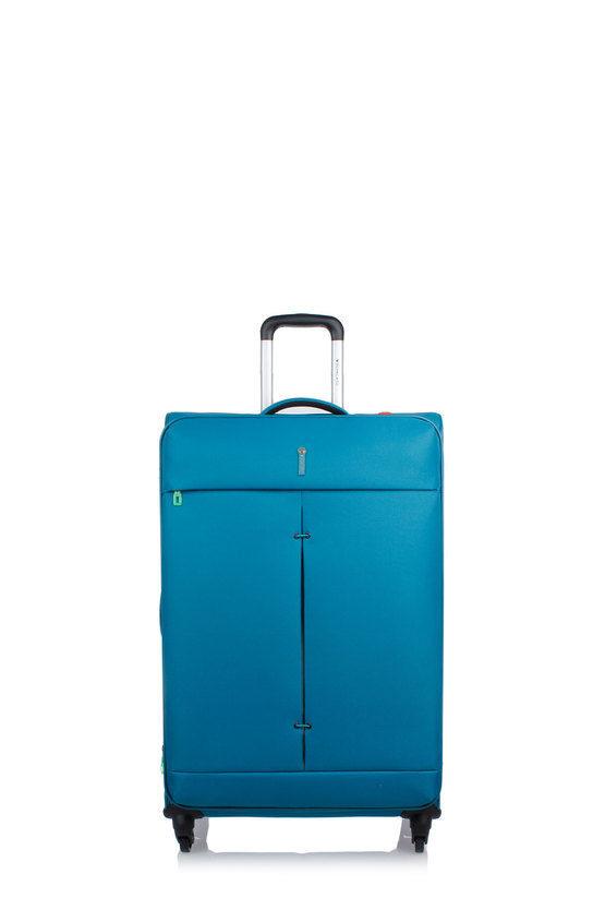 IRONIK Trolley Grande 78cm 4R Espandibile Smeraldo