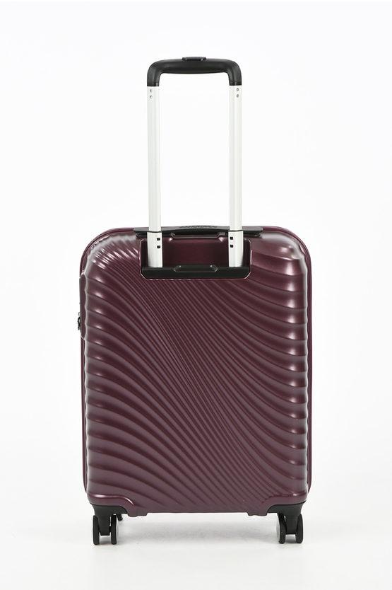 JETGLAM Cabin Trolley 55cm 4W Metallic Grape Purple