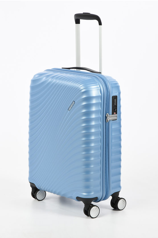 JETGLAM Cabin Trolley 55cm 4W Metallic Powder Blue