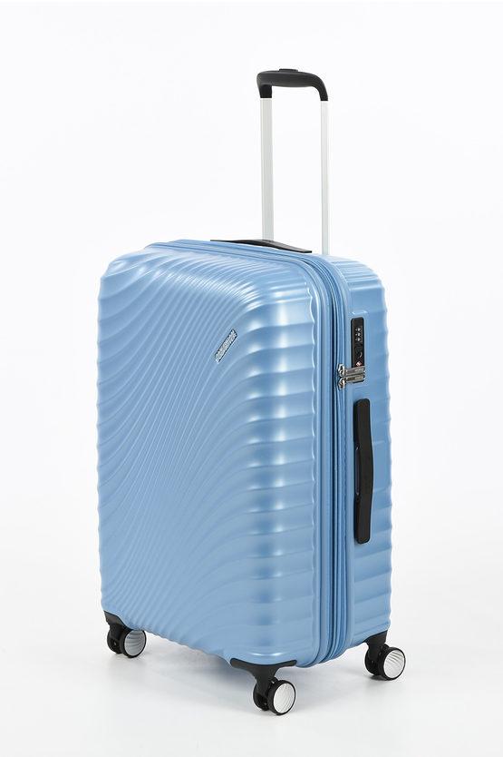 JETGLAM Medium Trolley 67cm 4W Metallic Powder Blue