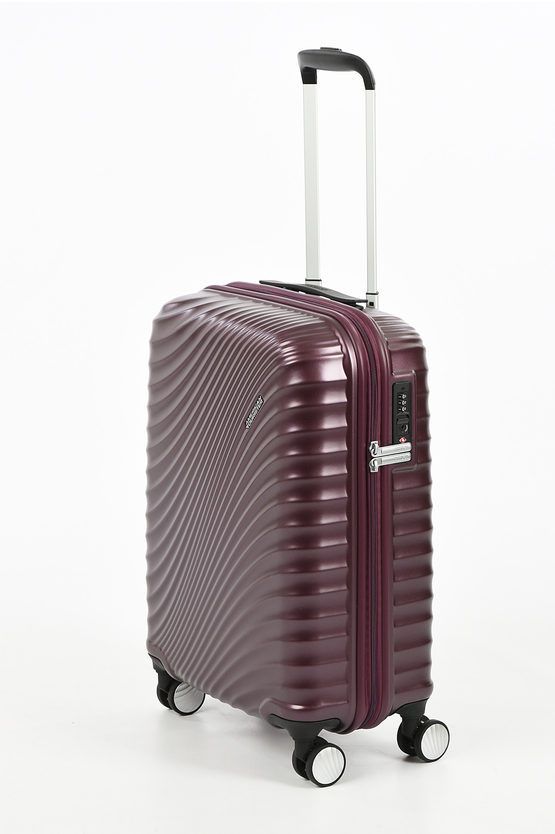 JETGLAM Trolley Cabina 55cm 4R Metallic Grape Purple