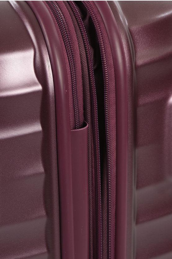 JETGLAM Trolley Grande 77cm 4R Espandibile Metallic Grape Purple
