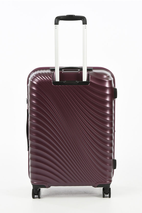 JETGLAM Trolley Medio 67cm 4R Espandibile Metallic Grape Purple