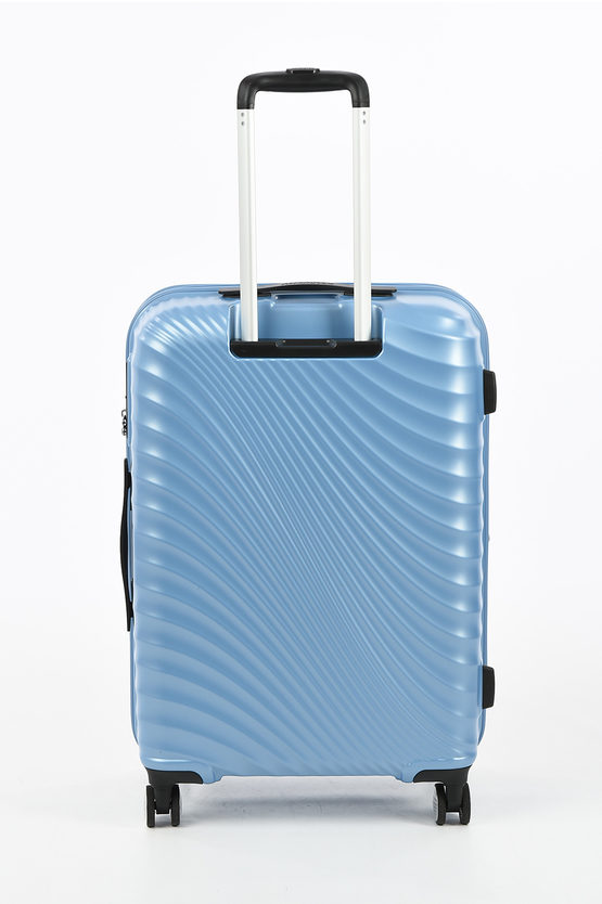 JETGLAM Trolley Medio 67cm 4R Espandibile Metallic Powder Blue