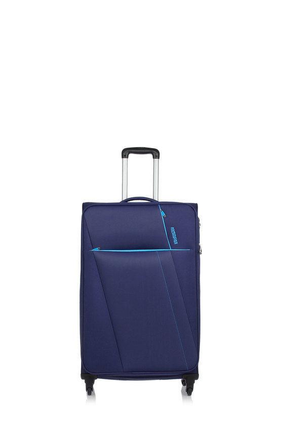 JOYRIDE Large Trolley 79cm 4W Expandable Blue
