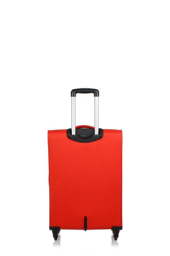JOYRIDE Medium Trolley 69cm 4W Expandable Red
