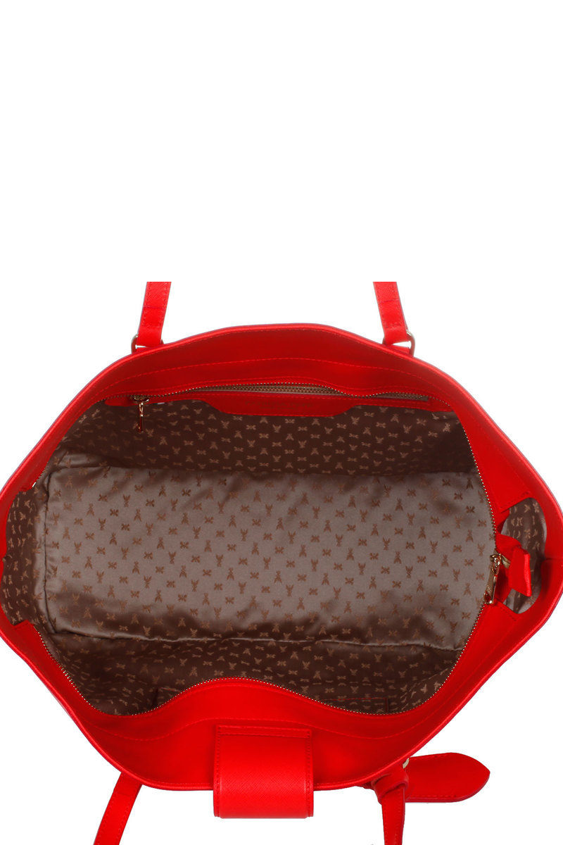 the best attitude 519f4 b589e Large Leather Shopping Bag Patrizia Pepe women - Cuoieria ...