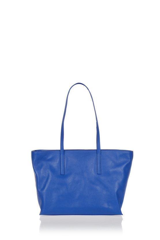 LD Borsa Shopper a Spalla Blu