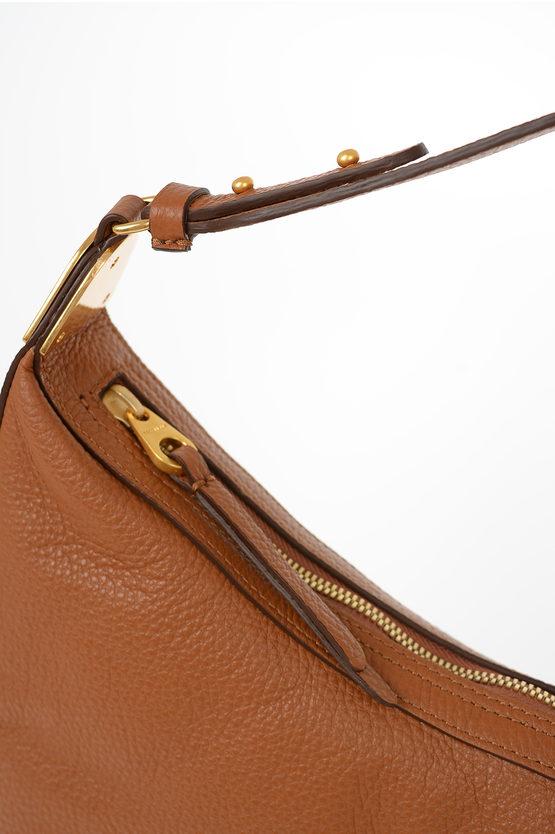 Leather ANAIS Hobo Bag