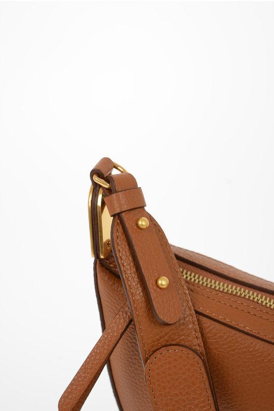 Leather ANAIS Mini Hobo Bag