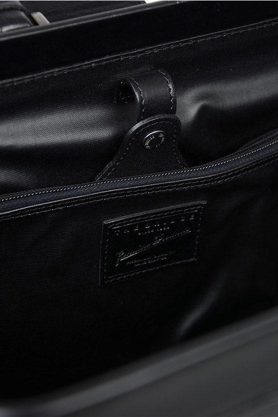 Leather Business Bag Black