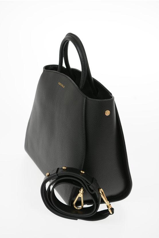 Leather CONCRETE Hand Bag