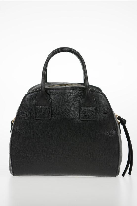 Leather CONCRETE JOURNAL Bowling Bag