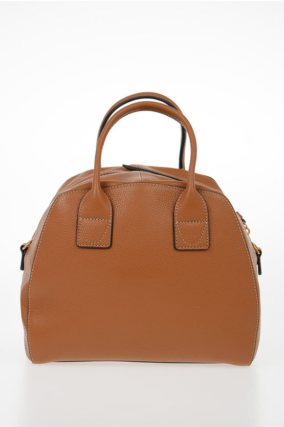 Leather CONCRETE JOURNAL Bowling Bag
