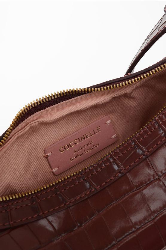 Leather Crocodile Printed ANAIS Bag