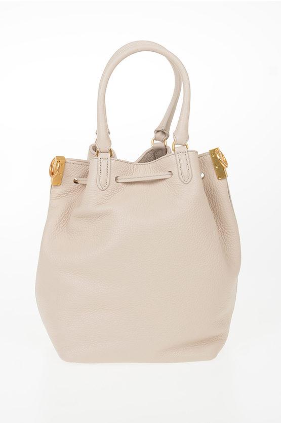Leather GABRIELLE Bucket Bag