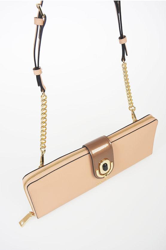 Leather IMA Clutch Bag