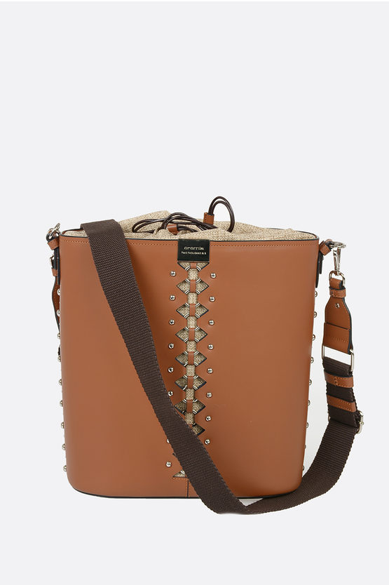 Leather KIMANI Big Bucket Bag