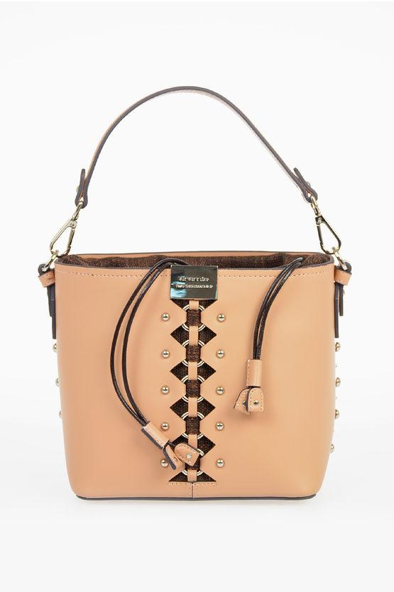 Leather KIMANI Bucket Bag
