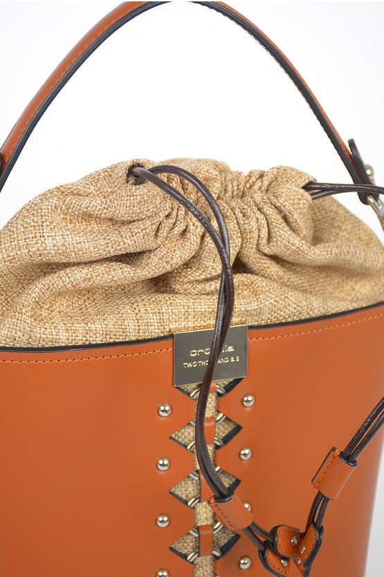 Leather KIMANI Bucket Bag