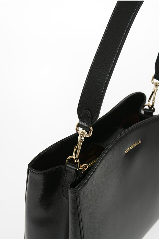 Leather SORTIE TEXTURED Hand Bag